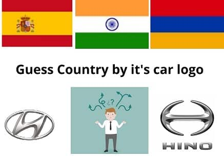 Country by it's logo